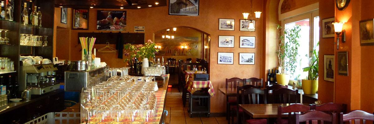 Dante Restaurant Berlin Italiener Ristaurante Pizzeria Tresen